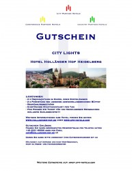 Gutschein Heidelberg - City Lights